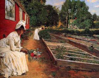 William Merritt Chase Il vivaio