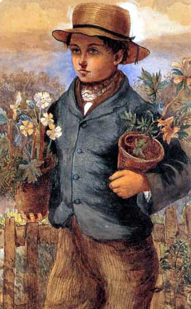 The garden boy James Collinson