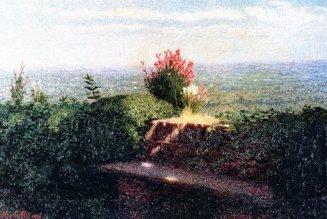 Angolo di giardino 1912 Angelo Morbelli