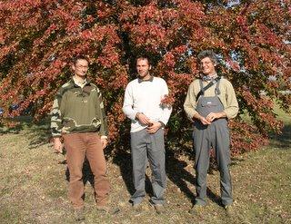 Giorgio, Luca e Gilberto