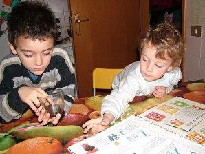 Ettore, Federico e il pollicino verde