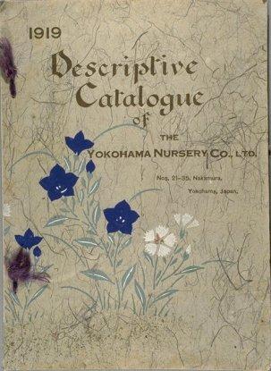 Catalogo 1919 Yokohama Nursery